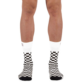 Sportful Checkmate Socks, white black